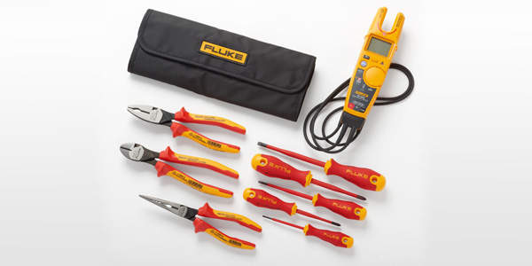Fluke's New 1000 Volt Insulated Hand Tools Integrate Safety in Hazardous Environments