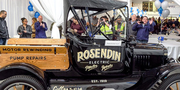 Rosendin Celebrates 100 Years of Excellence with Black Tie Event