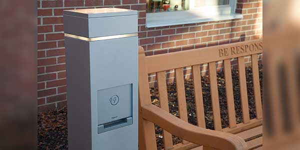 Legrand Outdoor Charging Stations Support Technology in Schools Outdoor Space