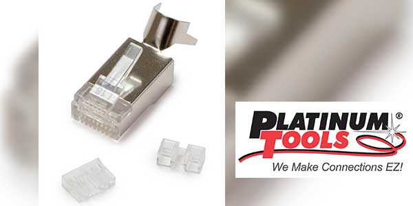 Platinum Tools New Shielded Cat6A/7 RJ45 Modular Connectors