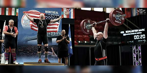 Mark Schlueter Wins Masters National Olympic Weightlifting Competition