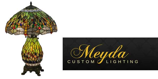 Meyda Lighting Offers Tiffany Hanginghead Dragonfly Table Lamp