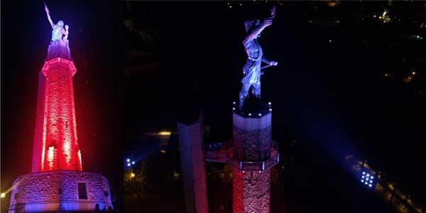 TMB's Solaris Flare IP Illuminates Landmark Vulcan Statue in Alabama