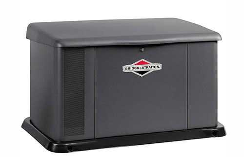Briggs & Stratton Power Products 40555 17kW Standby Generator with 200 Amp Transfer Switch