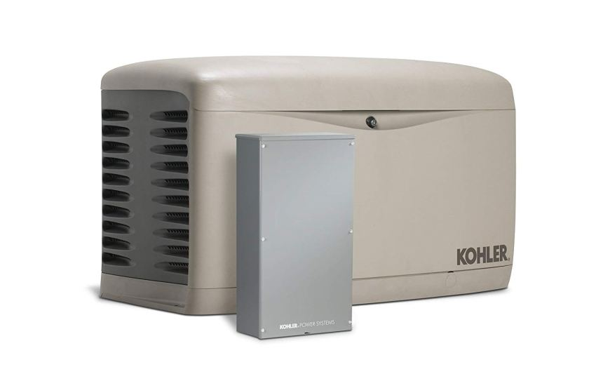 Kohler 20RESCL-200SELS Air-Cooled Standby Generator with 200 Amp Transfer Switch Single Phase