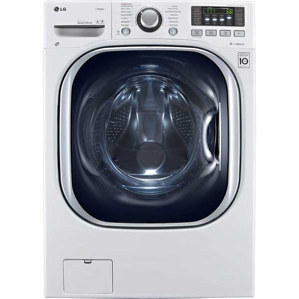 LG WM3997HWA Ventless 4.3 Cu. Ft. Capacity Steam Washer