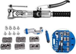 Mophorn Hydraulic Flaring Tool with Tube Cutter Kit
