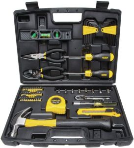 STANLEY 94-248 65 Piece Homeowners DIY Tool Kit