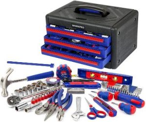 WORKPRO 125-Piece Home Repair Tool Set