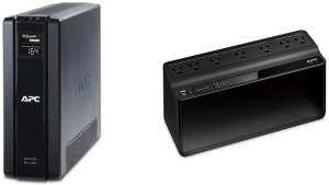 APC BR1500G and BE600M1 Battery Backup Bundle