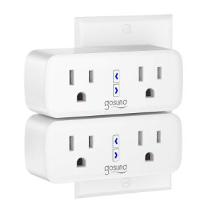 Smart Plug Gosund Dual WiFi Outlet Plug 2 in 1 Extenders Socket Works with Alexa Google Home Plugs