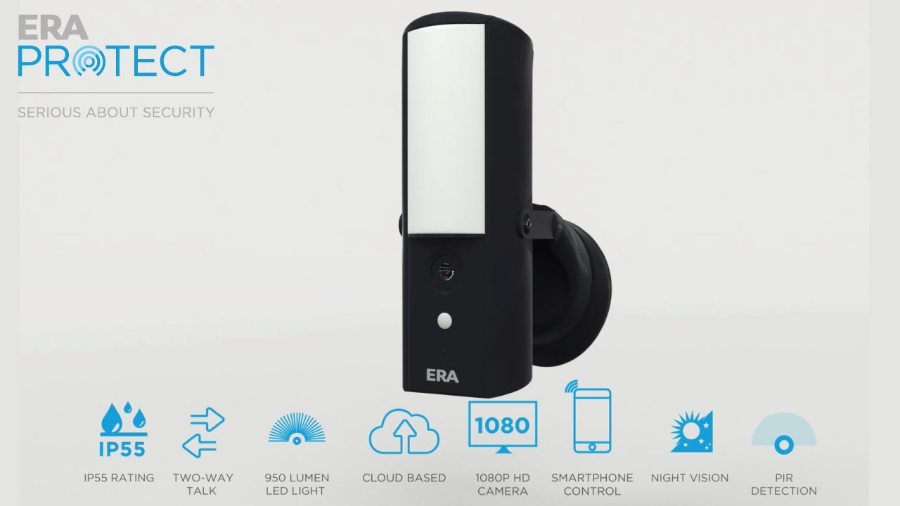 ERA Floodlight Security Camera