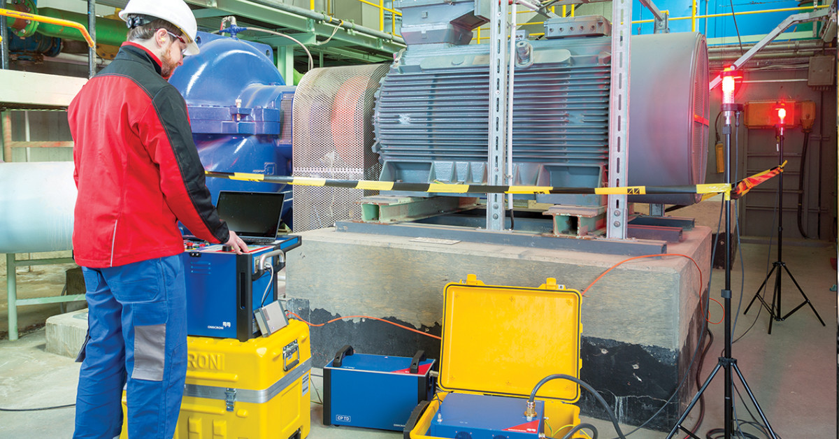 Assessing the risk of failure in rotating machines