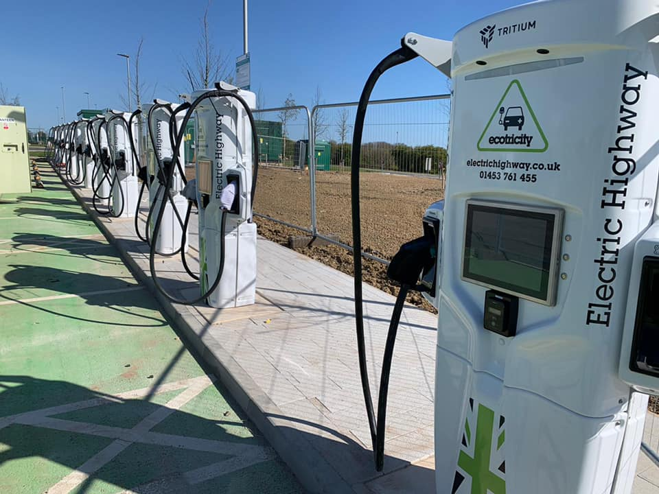 Ecotricity 350kW chargers