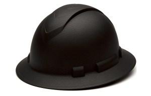 Pyramex Ridgeline Full Brim Hard Hat Matte Black Graphitte Review