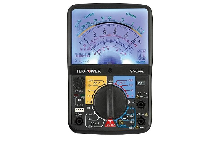 Tekpower TP8260L Analog Multimeter Review