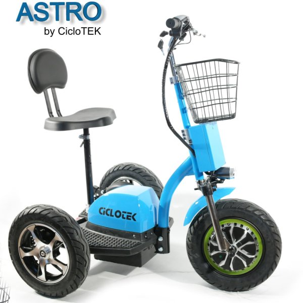 Silla eléctrica triciclo Astro
