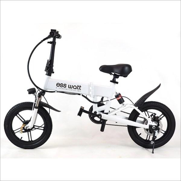 Bicicleta Eléctrica plegable Ess Watt