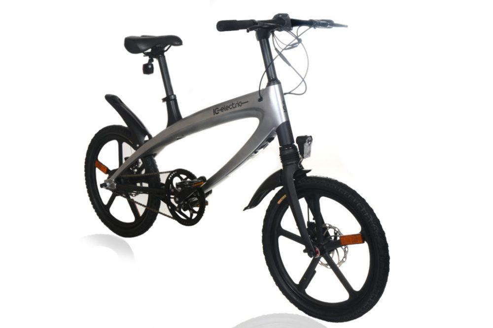 Bicicleta eléctrica urbana Alfa