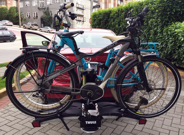 The best thing about the Thule 9032 Easy Fold Bike Rack is that it keeps our much loved electric bikes safe on our car. Thule 9032 Easy Fold Bike Rack Review