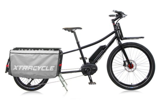 xtracycle 10e bosch electric cargo bike