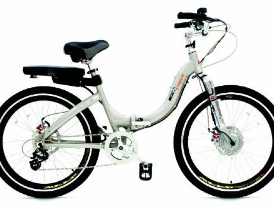 ProdecoTech G Plus Stride Electric Folding Bicycle.