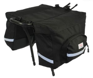 Bike Smart Doublewide bags.