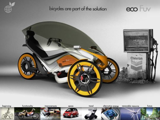 eco fuv electric trike