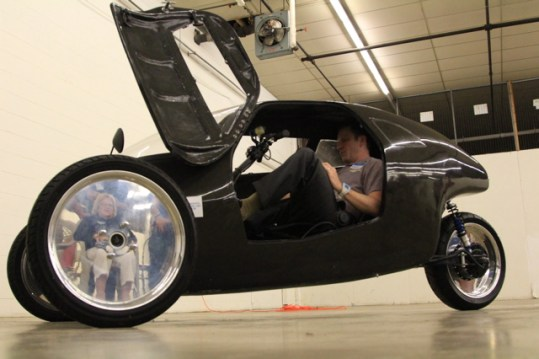 rhat racer electric trike