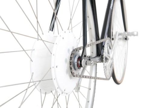 flykly smart wheel on bike