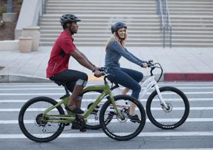 Currie Technologies IZIP Zuma electric bikes.