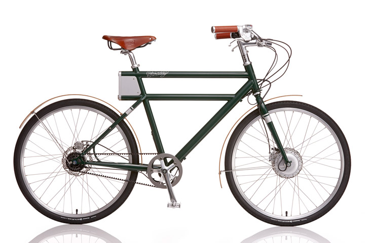 E-Bike News: Sidecar E-Bike, Faraday, Police E-Bikes, Mid Drives