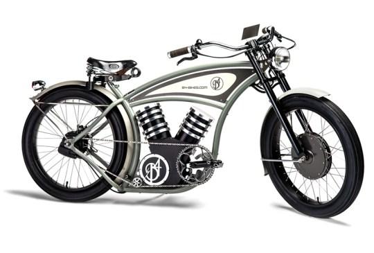 B4 electric cruiser bike.