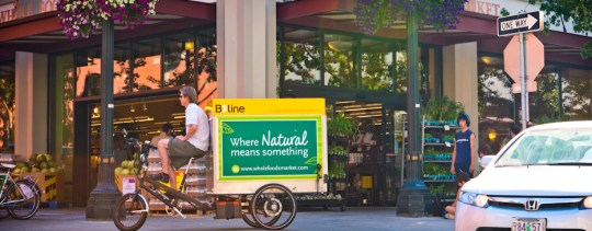 B-Line electric cargo bike delivery service