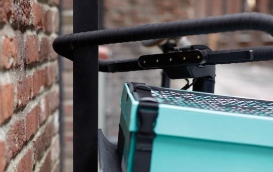 Denny electric bike handlebar lock 1