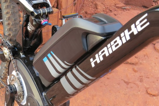 Haibike FS RX battery