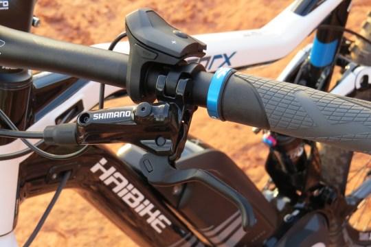 Haibike FS RX brake lever 1