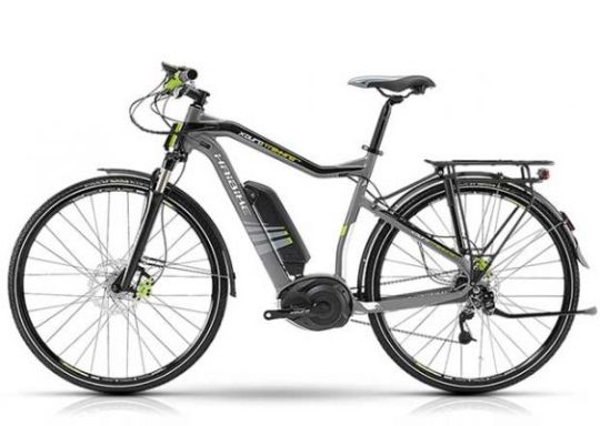 Haibike Xduro Trekking RX touring electric bike.
