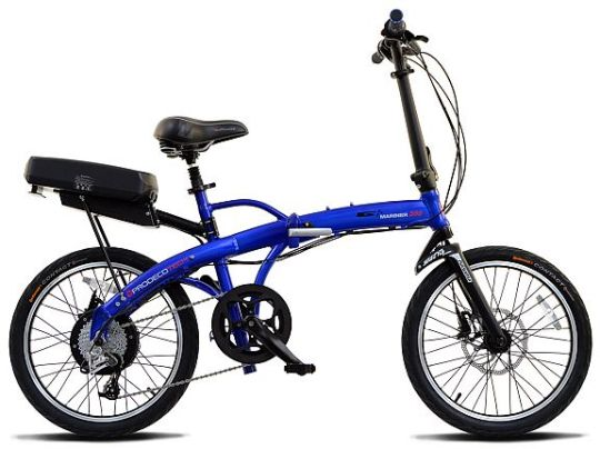 ProdecoTech Mariner 500 folding electric bike.