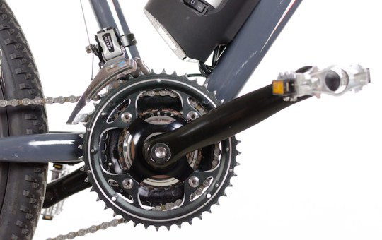 Optibike Pioneer Allroad electric bike cranks