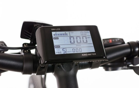Optibike Pioneer Allroad electric bike display