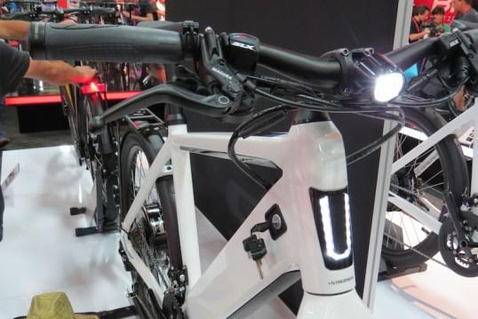 Stromer ST2 electric bike front lights