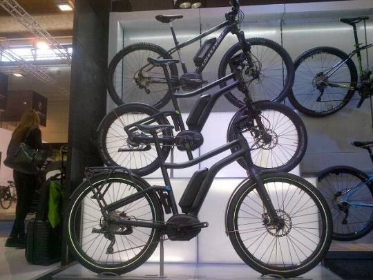 cannondale electric bike eurobike