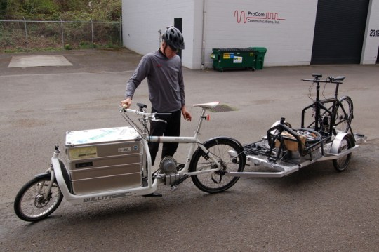 ecospeed electric cargo bike