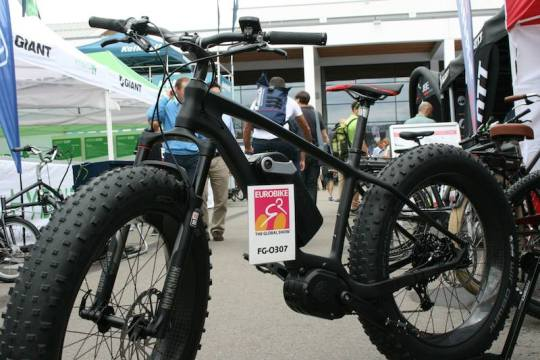 electric fat bike eurobike