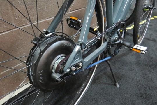 grace easy electric bike bionx motor