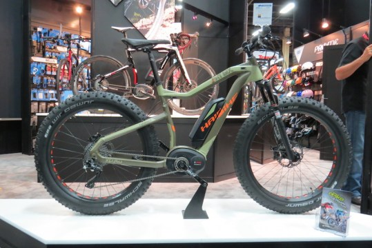 haibike fat six electric bike