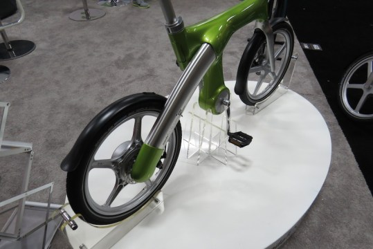 mando footloose electric bike back