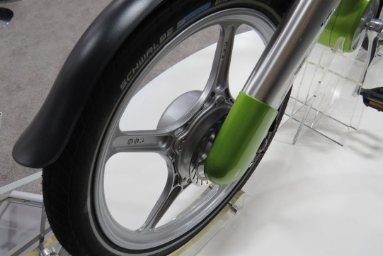 mando footloose electric bike rear wheel
