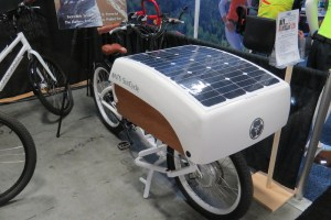nts suncycle solar charging cargo bike